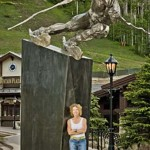 Gail Folwell - Monument to Vail's Olympians
