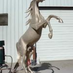 Judy Nordquist - Khemosabi - Assembled bronze.