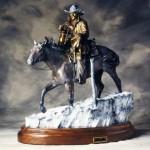 Bradford J. Williams - Cowboy Saturday Night - Maquette