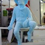 Bradford J. Williams - Twilight Ponderings - Maquette - Twilight Ponderings - Blue foam