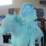 Bradford J. Williams -Cowboy Saturday Night - Blue foam